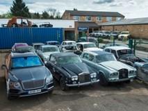Nghĩa trang xe siêu sang Rolls-Royce và Bentley lớn nhất thế giới
