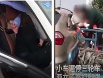 Muôn kiểu đánh ghen ở ô tô khiến kẻ thứ 3 phải rùng mình sợ hãi