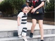 Bộ ảnh tan học của mẹ con Elly Trần - Túc Mạch khiến fan đắm đuối