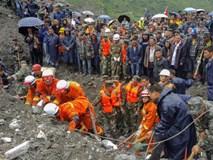 Chạy đua tìm 120 người mất tích do lở đất ở Trung Quốc