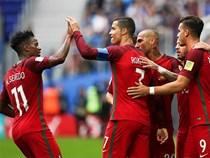 Ronaldo lại ghi bàn, Bồ Đào Nha vào bán kết Confed Cup 2017