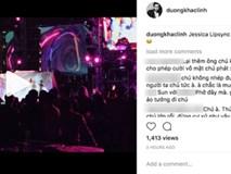 Dương Khắc Linh bất ngờ đăng đàn chê Jessica hát nhép