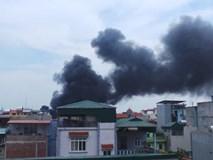 Cháy lớn tại làng Triều Khúc