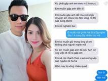 """Lộ tin nhắn nghi của """"người thứ ba"""" gửi Việt Anh đòi gặp mặt nói chuyện"""