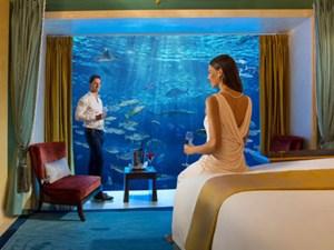 Choáng ngợp nội thất bên trong những khách sạn xa xỉ nhất Dubai