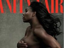Bà bầu Serena Williams khỏa thân trên bìa tạp chí