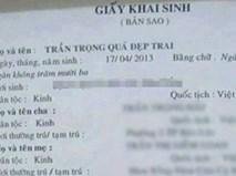 Những cái tên khai sinh 'hiếm có khó tìm' chỉ có ở Việt Nam