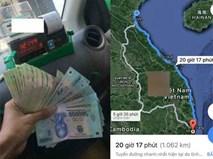 Chi 12 triệu đi taxi qua hơn 1.000 km để gặp người yêu, chàng trai bị dân mạng chửi sấp mặt vì quá phung phí