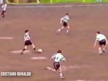 So sánh tài năng của Ronaldo Jr và Ronaldo khi còn nhỏ
