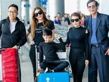Hồ Ngọc Hà âu yếm Subeo, cùng cả gia đình đi lưu diễn tại Mỹ