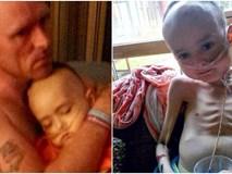 """Dùng chút sức lực cuối cùng trước khi ra đi mãi mãi vì ung thư, """"thiên thần nhí"""" gọi tên ông bà bố mẹ rồi nói """"Chụp ảnh đi bố mẹ ơi"""""""