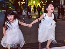 Miu - cô bé siêu ngoại ngữ của Biệt tài tí hon thu hút nghìn like trong clip hát tiếng Anh cùng em gái