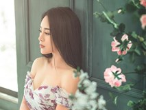 Vợ kém 18 tuổi của Việt Hoàn tung bộ ảnh mát mắt