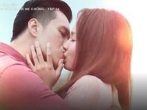 'Sống chung với mẹ chồng': Vân khóa môi Sơn cả phút trong cảnh cuối