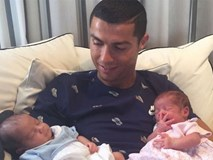 C.Ronaldo trả bao nhiêu tiền cho người đẻ thuê cặp song sinh?