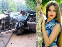 """Hoa khôi 16 tuổi tử vong sau tai nạn thảm khốc vì """"mải"""" livestream"""