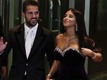Bồ Fabregas mặc váy khoe ngực đầy trong đám cưới Messi
