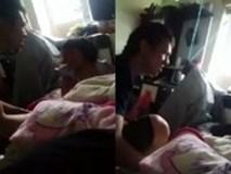 Ông bố đánh, đấm túi bụi vào cô con gái nhỏ khiến người xem phẫn nộ