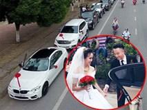 Bố chuẩn bị 60 xe Ford rước dâu trong đám cưới con gái