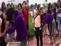 """Hải Dương: Từ cái """"nhìn đểu"""", 2 nữ sinh đánh nhau dã man"""