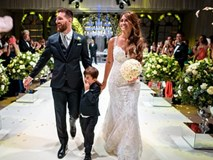 Đây là những hình ảnh 'độc' và vui nhộn trong đám cưới Messi