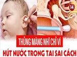Bé trai 9 tuổi đang ngủ bị vật thể lạ chui vào tai suýt thủng màng nhĩ-4