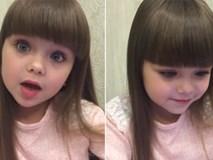 Cô bé có đôi mắt búp bê hớp hồn người xem khi hát nhép