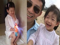 Cha khoe ảnh con gái cười tươi trên MXH, nhiều người chú ý đến chi tiết đặc biệt này