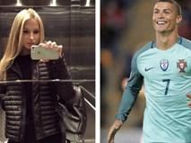 Có bồ đẹp, Ronaldo vẫn hẹn hò bí mật người mẫu Nga