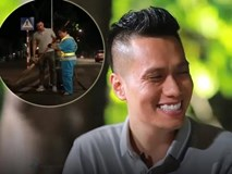 Việt Anh 'Người phán xử' quét rác trong đêm