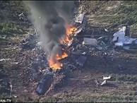 Máy bay quân sự Mỹ rơi, ít nhất 16 người chết