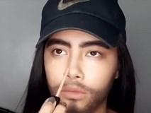 Clip make-up biến hình từ 'bánh bèo' sang 'soái ca' bằng các dụng cụ dễ không ngờ