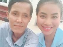 Hoa hậu Phạm Hương khẩn thiết tìm nhóm máu AB để cứu cha thoát cơn nguy kịch