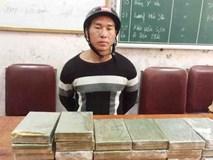 Cảnh sát mai phục bắt gã trai vận chuyển 20 bánh heroin