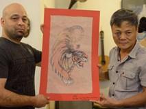 Cao thủ Vịnh Xuân Flores đến tận nhà, tặng quà cho võ sư Đoàn Bảo Châu