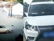 Chăm chú nhìn điện thoại ngoài đường, cô gái bị ô tô đâm văng xa 20m, tử vong tại chỗ