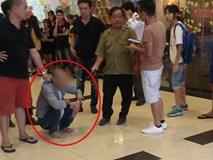 Công an đang điều tra clip bảo vệ siêu thị ở quận Long Biên bị người dân bắt giữ vì nghi dâm ô trẻ em