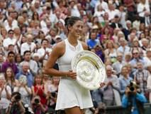 """Đánh bại """"lão tướng"""" Venus Williams, Muguruza lần đầu vô địch Wimbledon"""