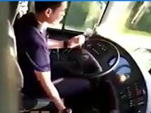 Cái kết đau đớn cho tài xế vừa lái xe vừa gọt táo ăn