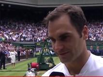 Roger Federer: 'Nhiều lúc tôi không tin mình có thể vào chung kết'