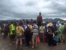 Tin bão số 2 năm 2017: Hơn 3.500 du khách mắc kẹt ở đảo Cô Tô