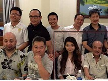 Chưởng môn Nam Anh và con gái về Việt Nam gặp Flores