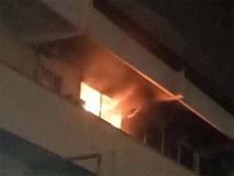 Khoa khám bệnh ở Bệnh viện Bạch Mai bất ngờ bốc cháy trong đêm