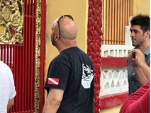 Võ sư Flores đến võ đường phái Nam Huỳnh Đạo