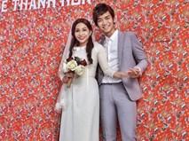 BB Trần và Trần Khả Như 'quẩy banh xác' phía sau hậu trường đám cưới