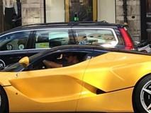 Zlatan Ibrahimovic tậu siêu xe triệu đô LaFerrari