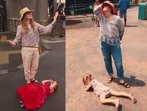 Mặc con gào khóc lăn lộn ở công viên, bà mẹ minh tinh này khiến nhiều người thán phục bởi cách dạy con quá hay