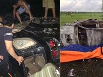 Hải Dương: Đập phá và đốt ô tô vì bị nghi ngờ vào làng bắt cóc trẻ em