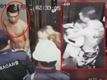 Dở trò sàm sỡ gái xinh trong thang máy, gã biến thái nhận cái kết đáng đời