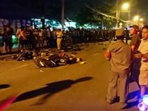 Hiện trường vụ 13 xe đâm liên hoàn ở Sài Gòn